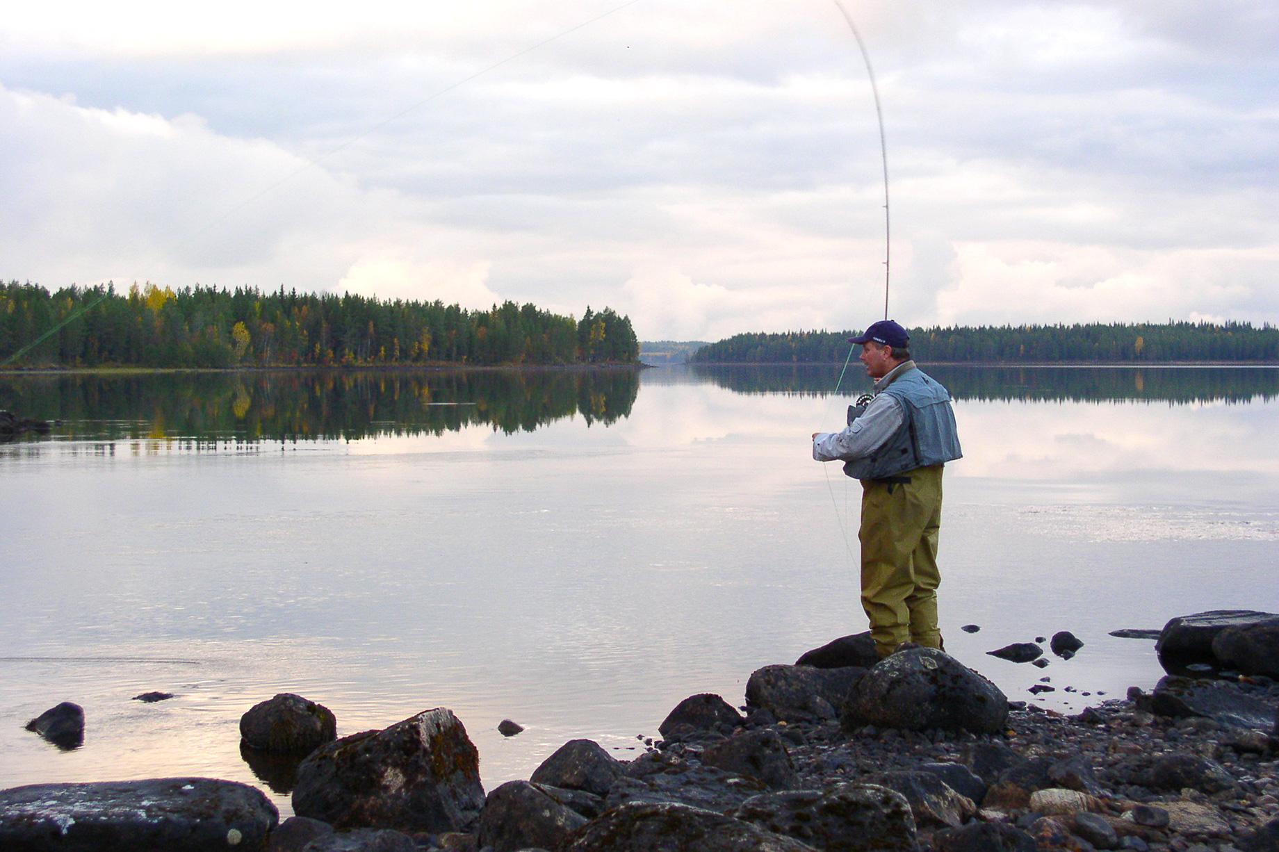 Voyage de pêche à l'étranger